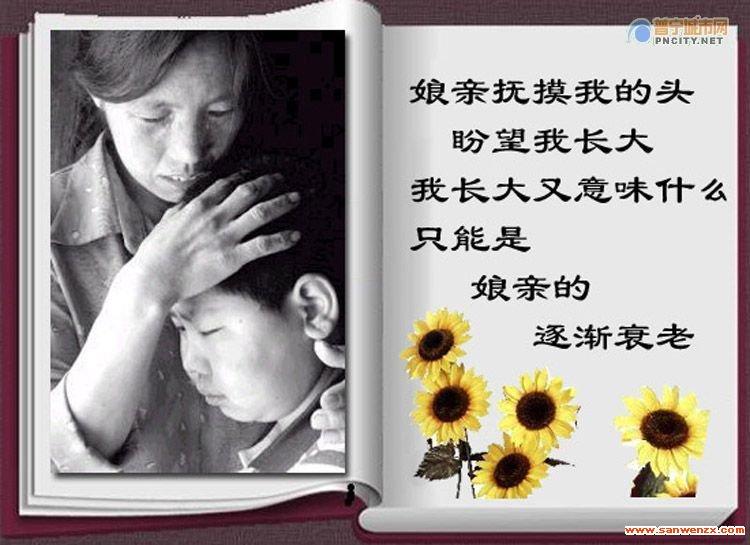 【描写母亲的优美散文】